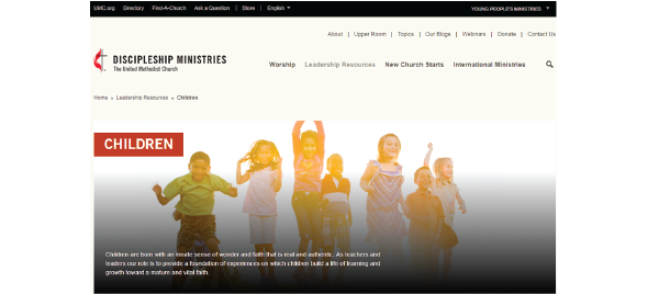 UMC Ministry in Children
