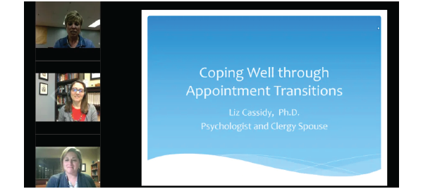 Leaving Well Webinars: Pastoral Transitions for Spouses with Elizabeth Cassidy